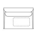 Briefumschläge mit Fenster C6 - 1000 Stück
